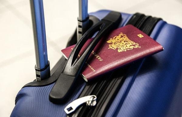 Passi ja matkalaukku